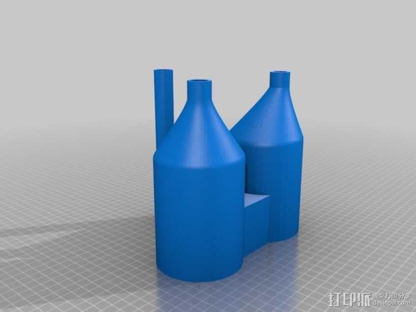 电解设备  3D模型  图2