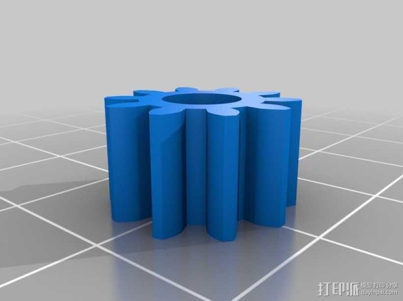 挖掘机 3D模型  图2