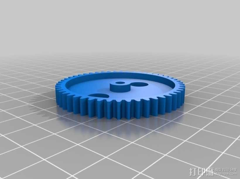 挖掘机 3D模型  图5