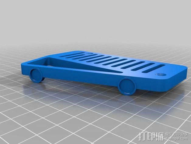 Shruthi-1合成器外壳 3D模型  图2