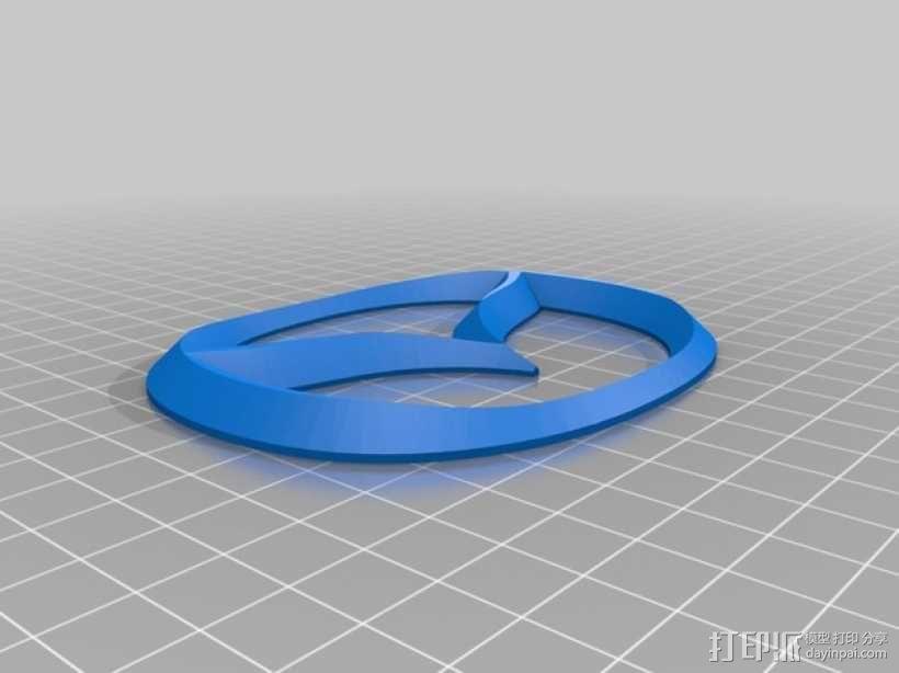 马自达汽车 标志 3D模型  图2