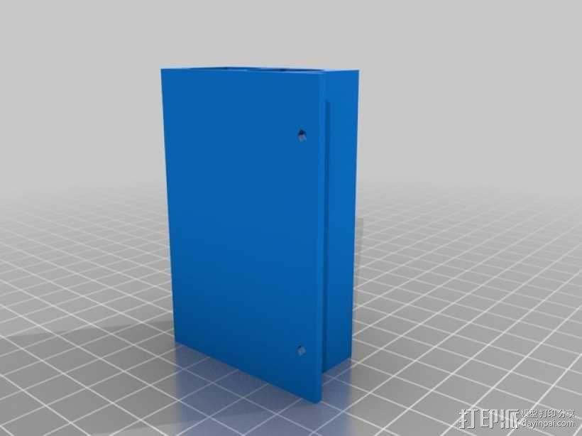 电阻分配器 3D模型  图2