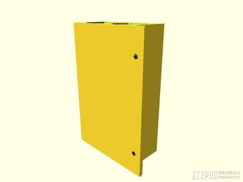 电阻分配器 3D模型  图3