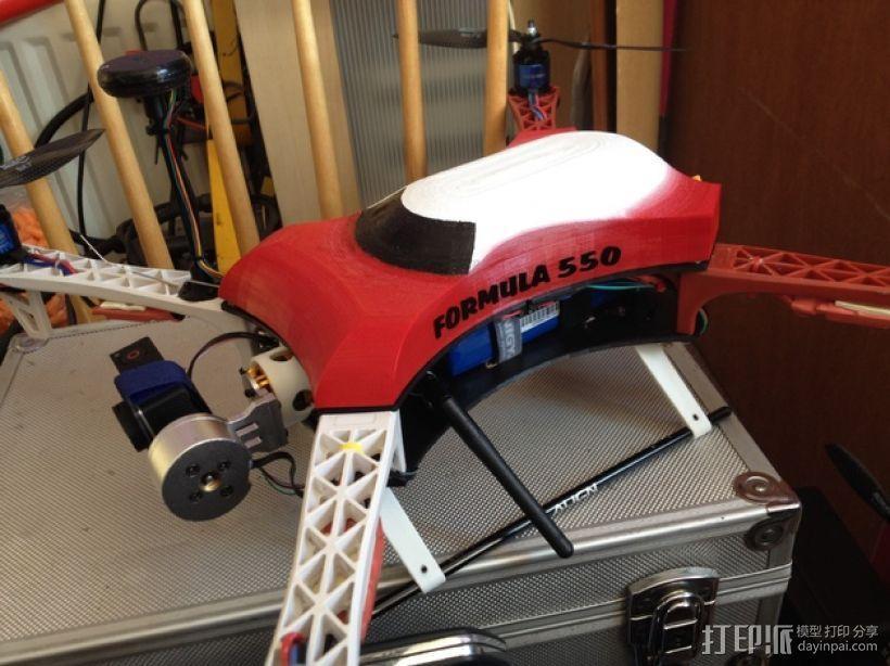 Formula 550 四轴飞行器 3D模型  图5