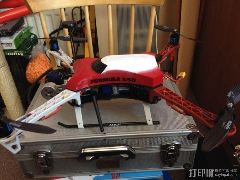 Formula 550 四轴飞行器 3D模型  图7