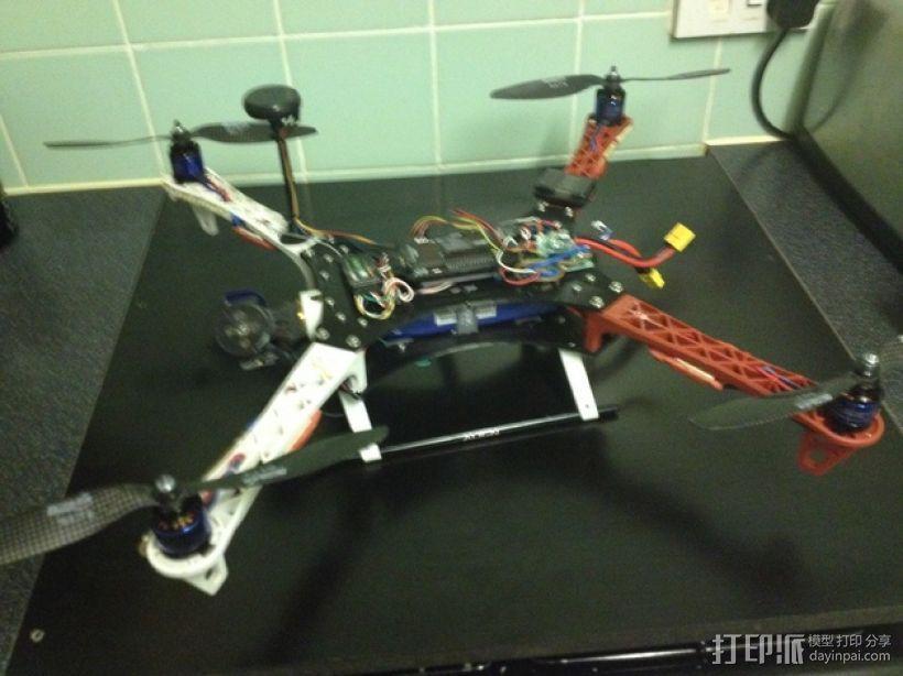 Formula 550 四轴飞行器 3D模型  图10