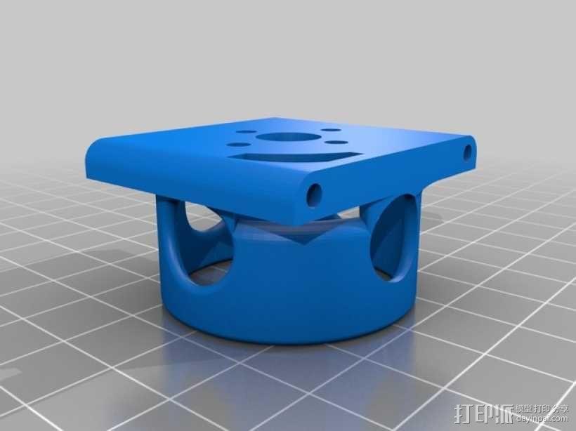 Formula 550 四轴飞行器 3D模型  图14
