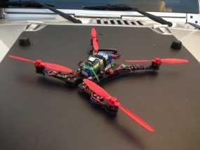 Blade 350QX四轴飞行器框架 3D模型