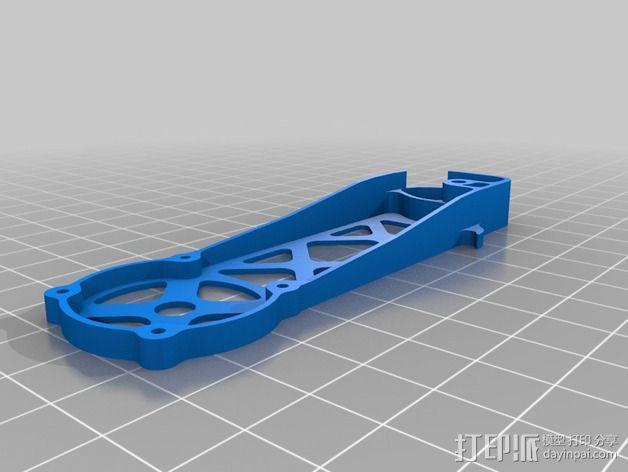 四轴飞行器 飞行控制器 3D模型  图2