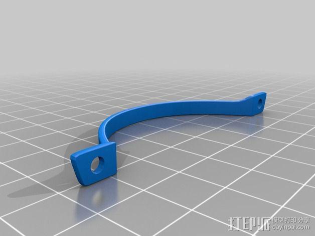 四轴飞行器 飞行控制器 3D模型  图6