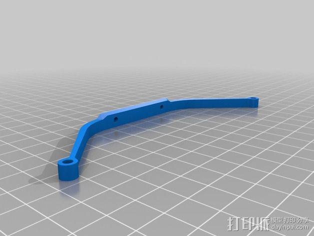 四轴飞行器 飞行控制器 3D模型  图5