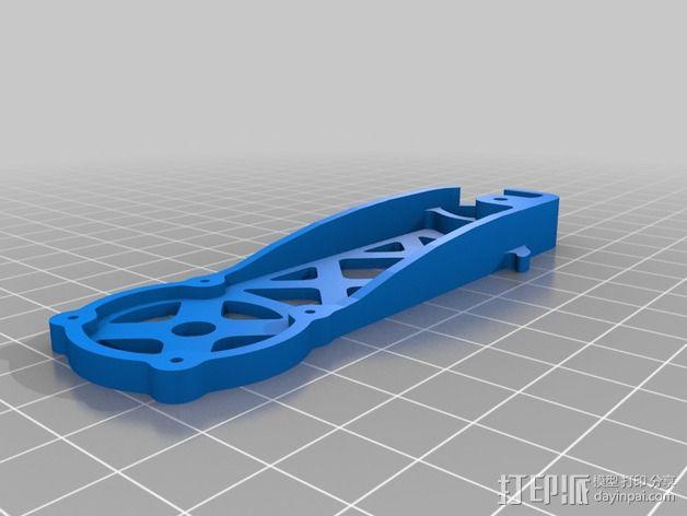 四轴飞行器 飞行控制器 3D模型  图7