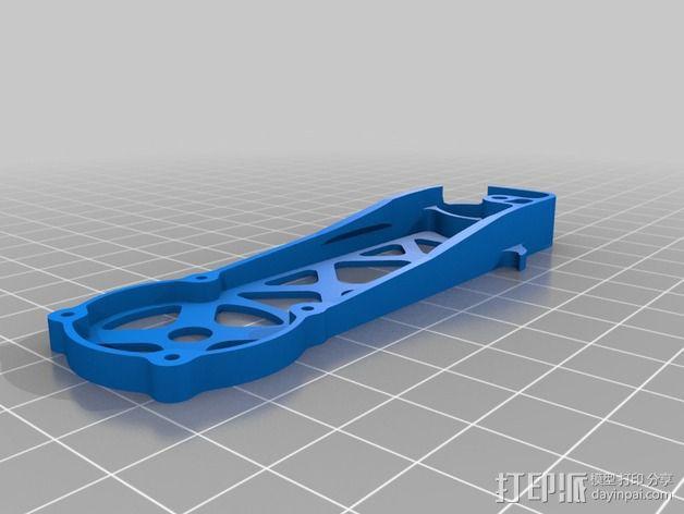 四轴飞行器 飞行控制器 3D模型  图10