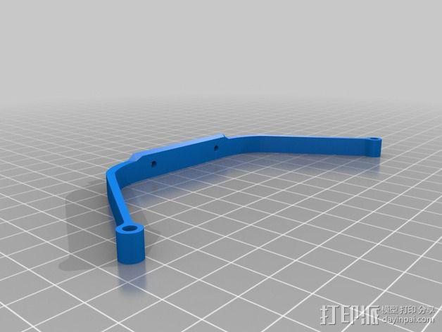 四轴飞行器 飞行控制器 3D模型  图11