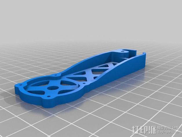 四轴飞行器 飞行控制器 3D模型  图12