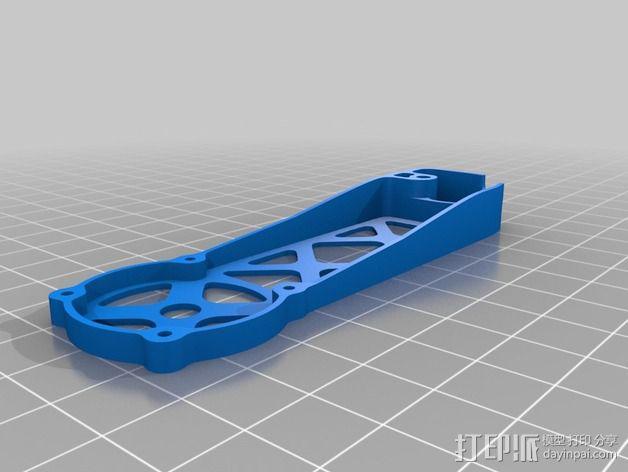 四轴飞行器 飞行控制器 3D模型  图13