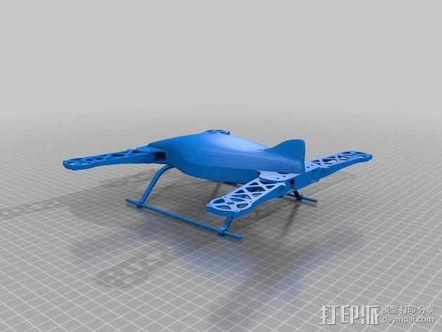 四轴飞行器 飞行控制器 3D模型  图15