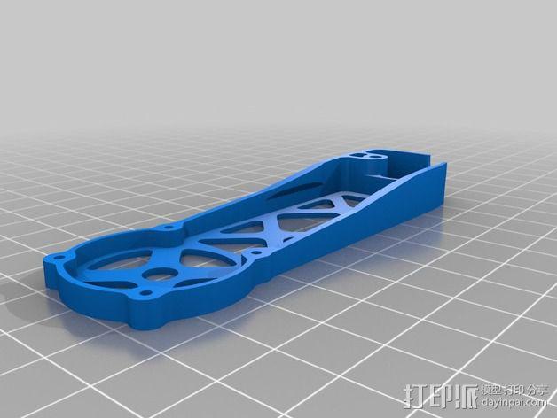四轴飞行器 飞行控制器 3D模型  图14