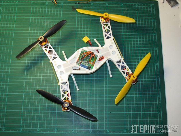 四轴飞行器 飞行控制器 3D模型  图16