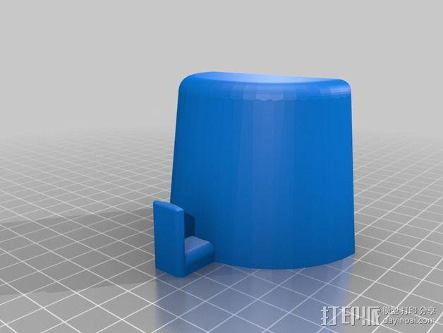 车载硬币筒 3D模型  图4