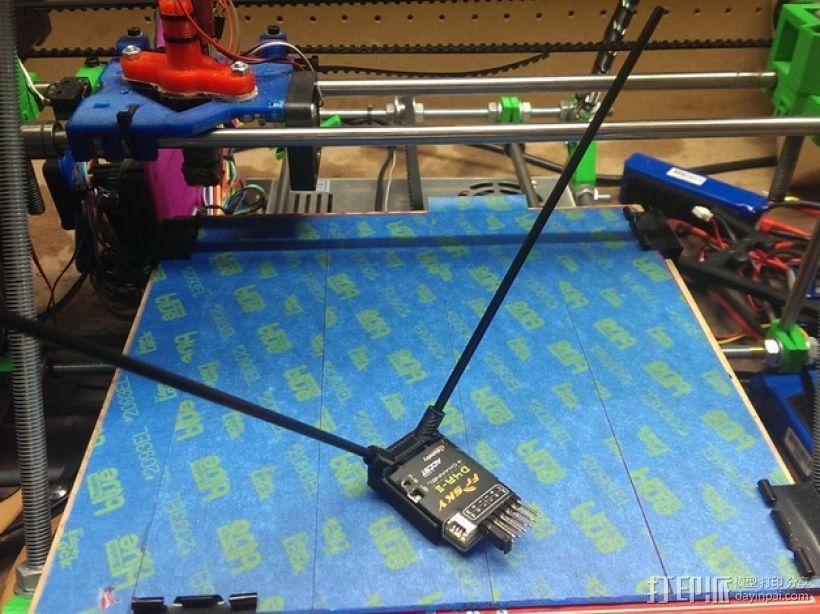 FrSky D4R 天线底座 3D模型  图3