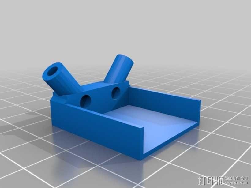 FrSky D4R 天线底座 3D模型  图5
