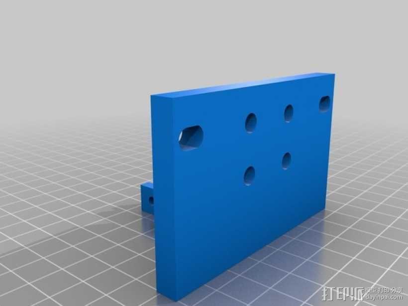 Shapeoko2笔架 3D模型  图3