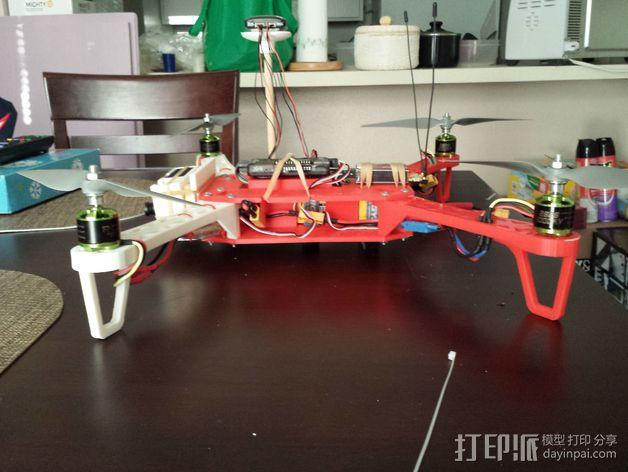 四轴飞行器 3D模型  图9