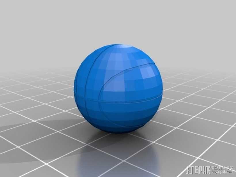 篮球 3D模型  图2