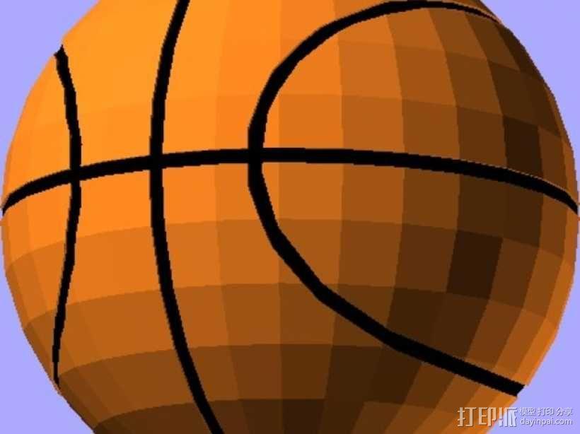 篮球 3D模型  图1