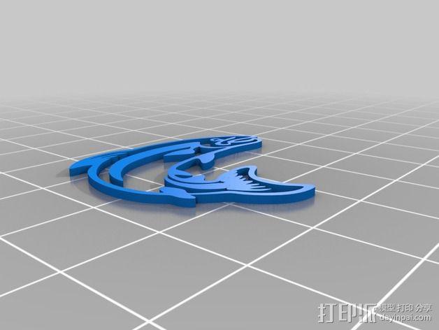 鳟鱼 3D模型  图2