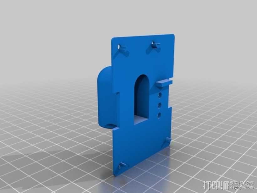 OrangeRX 发送器天线架 3D模型  图2