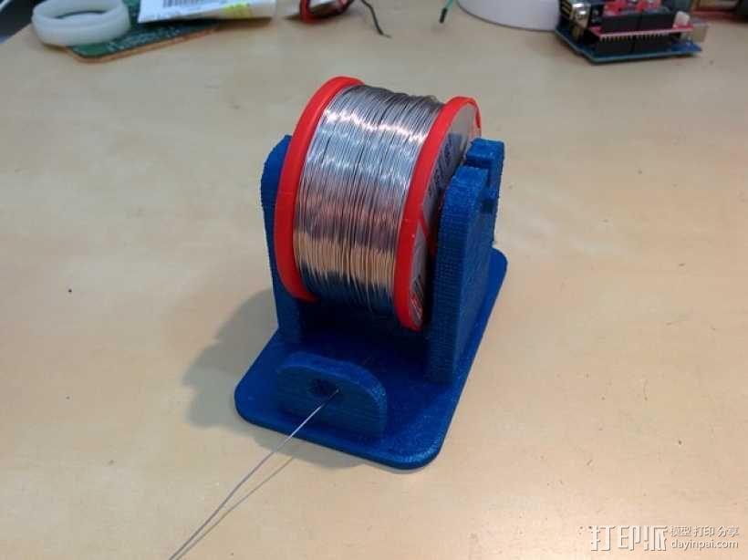 焊料架 3D模型  图1