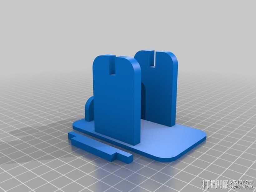 焊料架 3D模型  图2