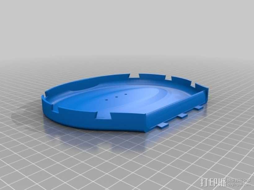尤克里里琴 3D模型  图4
