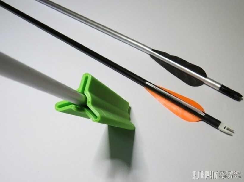 箭羽保护器 3D模型  图2