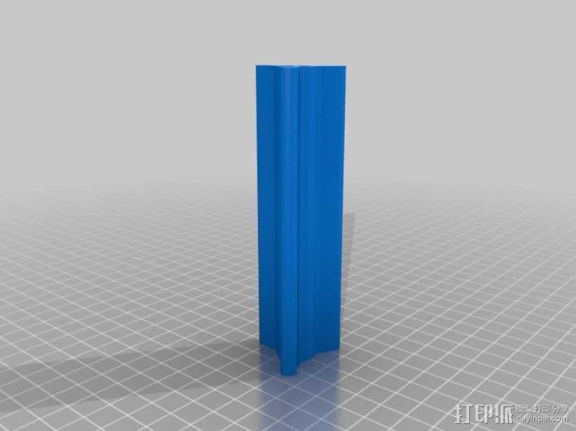 箭羽保护器 3D模型  图3
