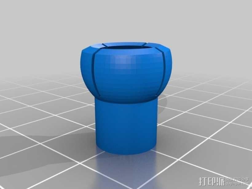 球形接头 3D模型  图4