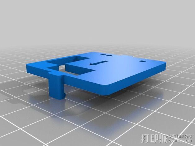 MultiWii飞行控制器外壳 3D模型  图2