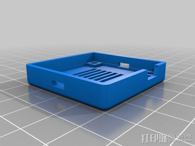 MultiWii飞行控制器外壳 3D模型  图4