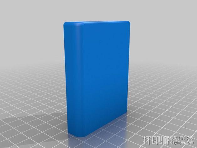 鱼漂收纳盒 3D模型  图2
