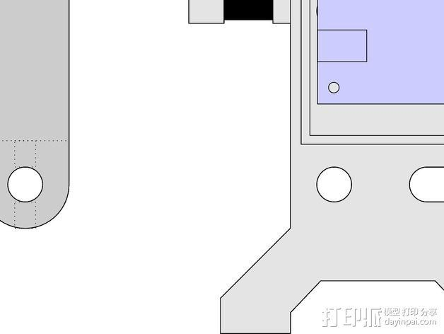 eggbot画蛋机 3D模型  图2