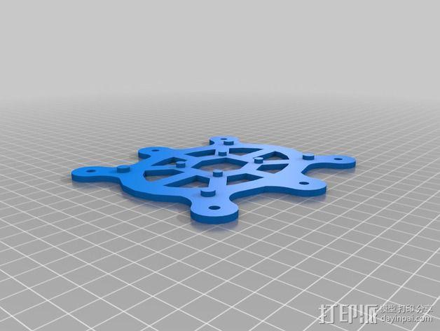 防昆虫机器人Hexapod 3D模型  图3