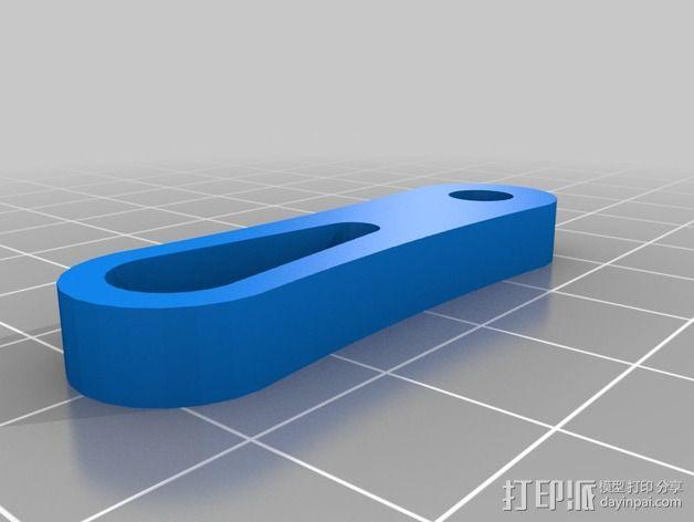 防昆虫机器人Hexapod 3D模型  图4