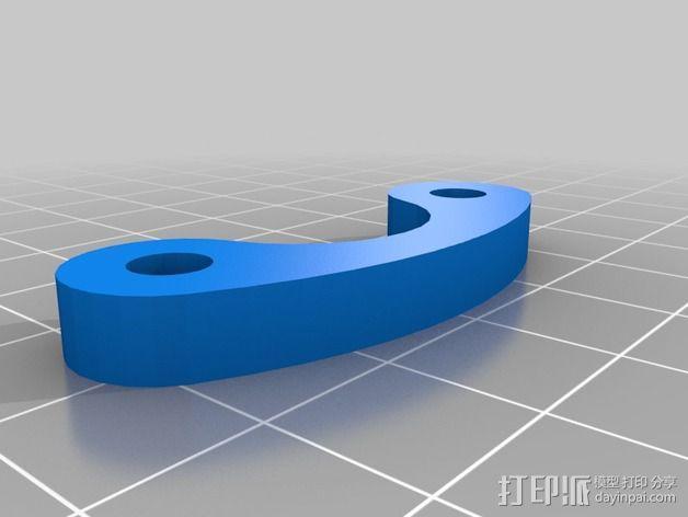 防昆虫机器人Hexapod 3D模型  图6