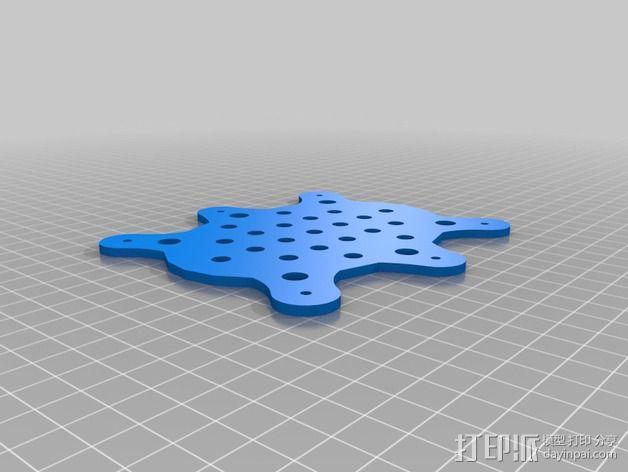 防昆虫机器人Hexapod 3D模型  图8