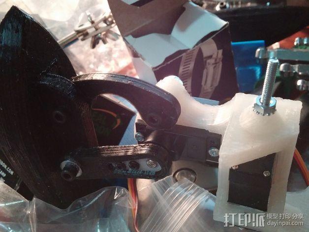 防昆虫机器人Hexapod 3D模型  图11