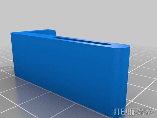 Bixler 2滑翔机FPV支架 3D模型  图6