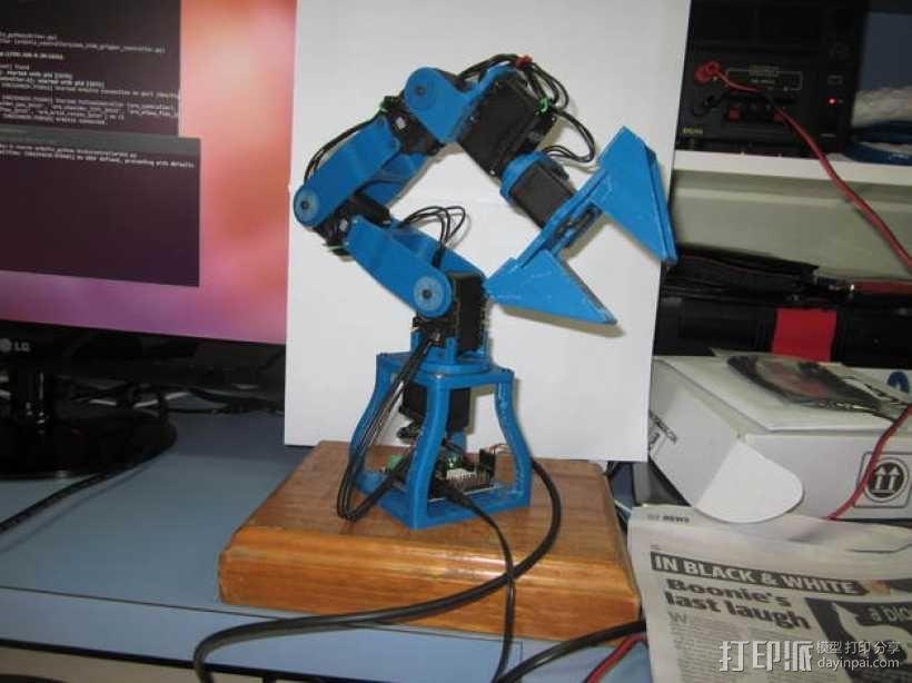 机械臂 3D模型  图1