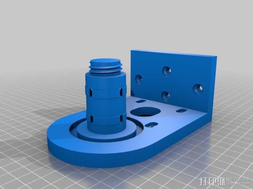 小型绞盘  3D模型  图3